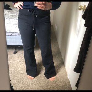 Vintage Lululemon wide-legged yoga pants